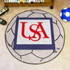 Soccer Ball Rug - Univ. of South Alabama