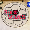 Soccer Ball Rug - Arkansas State