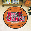 Basketball Rug - Arkansas State