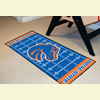 Football Floor Runner Rug - Boise State