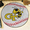 Baseball Rug - Georgia Tech