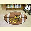 Football Rug - Georgia Tech
