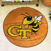 Basketball Rug - Georgia Tech