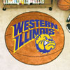 Basketball Rug - Western Illinois University