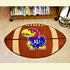 Football Rug - Univ. of Kansas, Lawrence