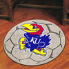 Soccer Ball Rug - Univ. of Kansas, Lawrence