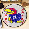 Baseball Rug - Univ. of Kansas, Lawrence