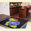 Area Rug - 4 x 6 ft - Univ. of Kansas, Lawrence