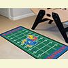 Football Floor Runner Rug - Univ. of Kansas, Lawrence