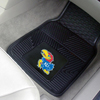 Heavy Duty Vinyl Car Mats - 2 Front - Univ. of Kansas