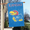 "Applique Banner Flag - 44"" x 28"" - Univ. of Kansas"