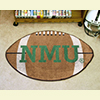 Football Rug - Northern Michigan University