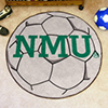 Soccer Ball Rug - Northern Michigan University