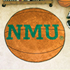 Basketball Rug - Northern Michigan University