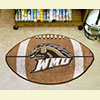 Football Rug - Western Michigan University