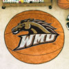 Basketball Rug - Western Michigan University