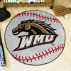 Baseball Rug - Western Michigan University