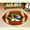 Football Rug - Univ. of Missouri, Columbia