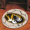Soccer Ball Rug - Univ. of Missouri, Columbia