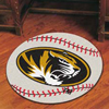 Baseball Rug - Univ. of Missouri, Columbia