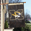 "Applique Banner Flag - 44"" x 28"" - Univ. of Missouri, Columbia"