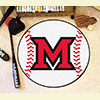 Baseball Rug - Miami Univ. Ohio