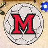 Soccer Ball Rug - Miami Univ. Ohio