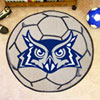 Soccer Ball Rug - Rice University