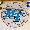Soccer Ball Rug - Middle Tennessee State Univ.