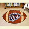 Football Rug - Univ. of Texas, El Paso
