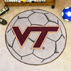 Soccer Ball Rug - Virginia Tech