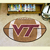 Football Rug - Virginia Tech