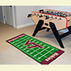 Football Floor Runner Rug - Virginia Tech