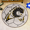 Soccer Ball Rug - Virginia Commonwealth Univ.