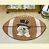 Football Rug - Wake Forest University