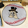 Baseball Rug - Wake Forest University