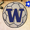 Soccer Ball Rug - University of Washington