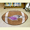 Football Rug - Univ. Of Wisconsin, Whitewater