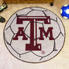 Soccer Ball Rug - Texas A & M