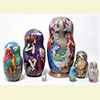 "Nativity Nesting Doll - 8"" w/ 7 Pieces"