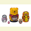 Mini Nesting Dolls w/ 5 Pieces - Assorted Designs