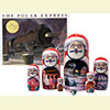 The Polar Express Book & Nesting Doll Set