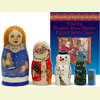 How the Russian Snow Maiden Helped Santa Claus Book & Doll Set