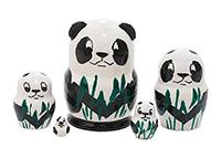 Mini Panda Nesting Doll
