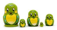 Mini Frog Nesting Doll