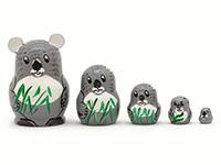 Mini Koala Nesting Doll