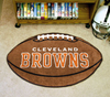 Football Rug - Cleveland Browns