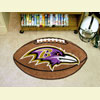 Football Rug - Baltimore Ravens
