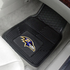 Heavy Duty Vinyl Car Mats - 2 Front - Baltimore Ravens