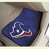Car Carpets - 2 Front - Houston Texans